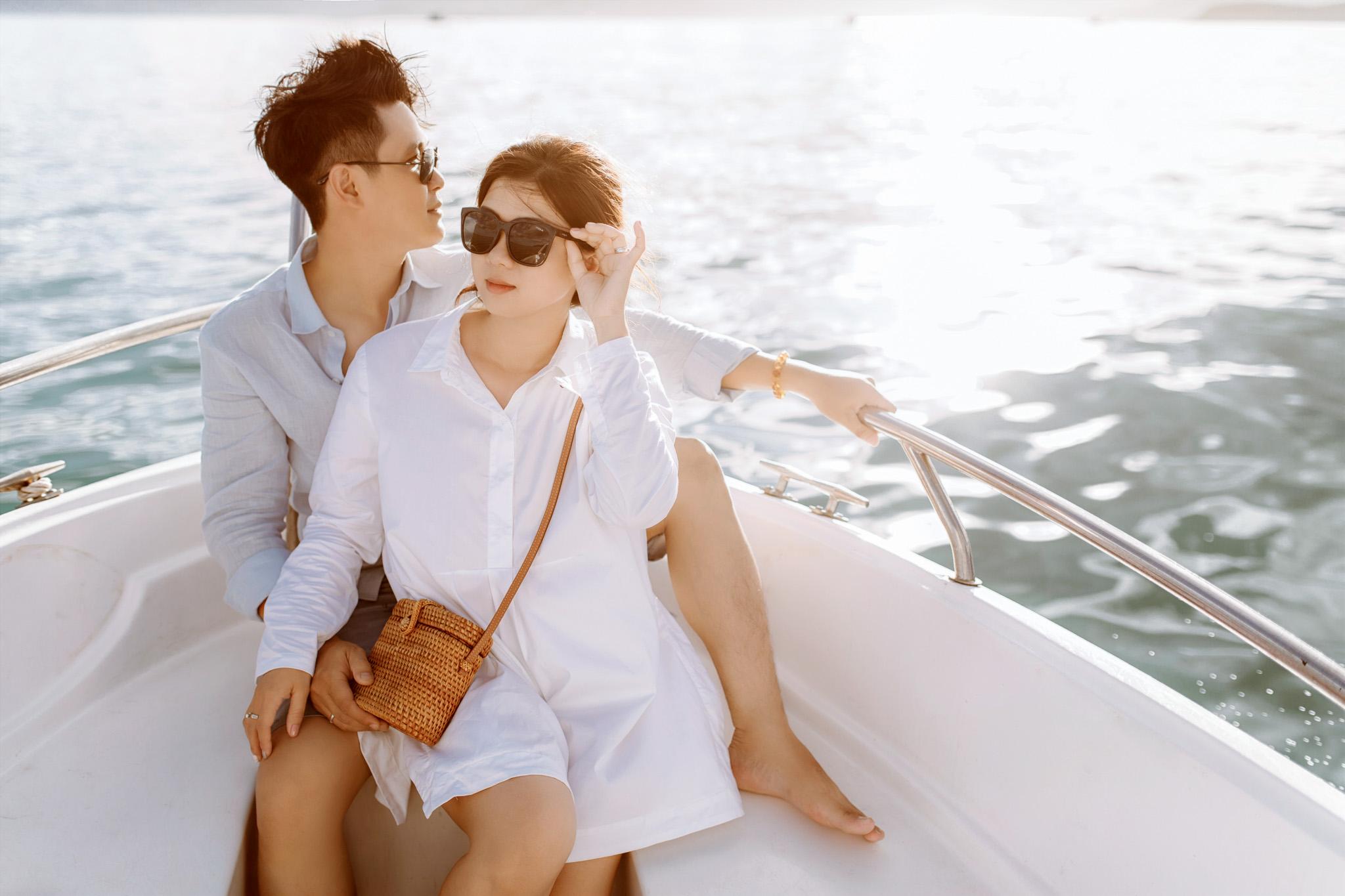 chụp ảnh cưới ngoại cảnh ở Nha Trang