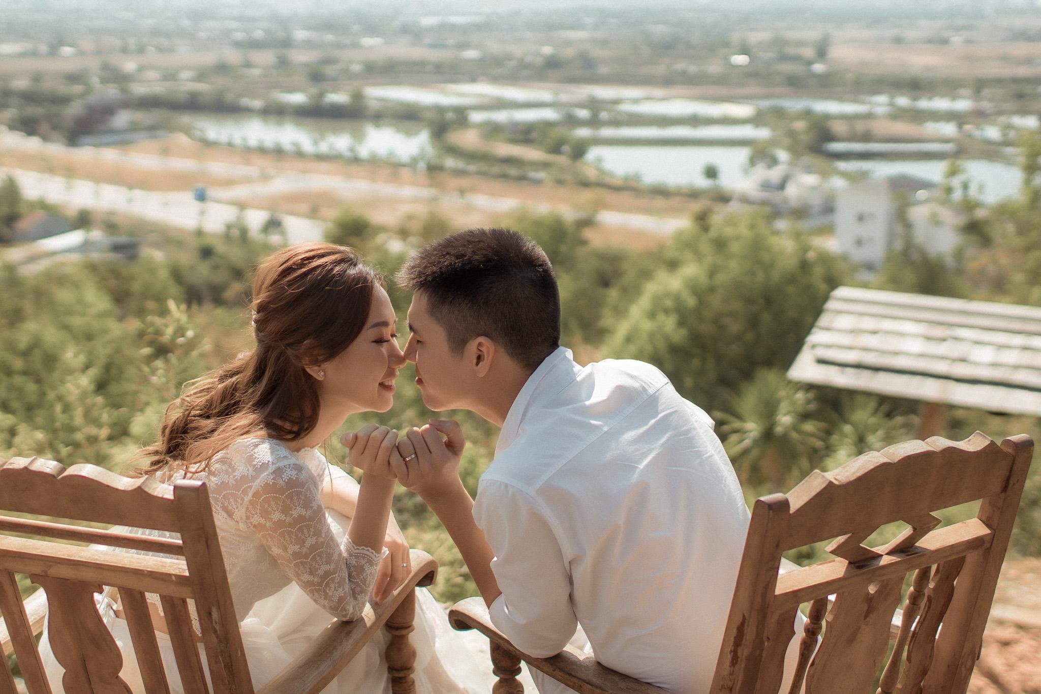 chụp pre wedding ở nha trang