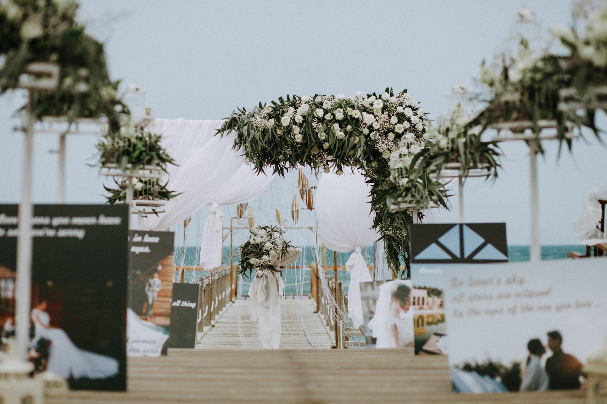 ý tưởng tổ chức tiệc cưới độc lạ dành cho các cặp đôi