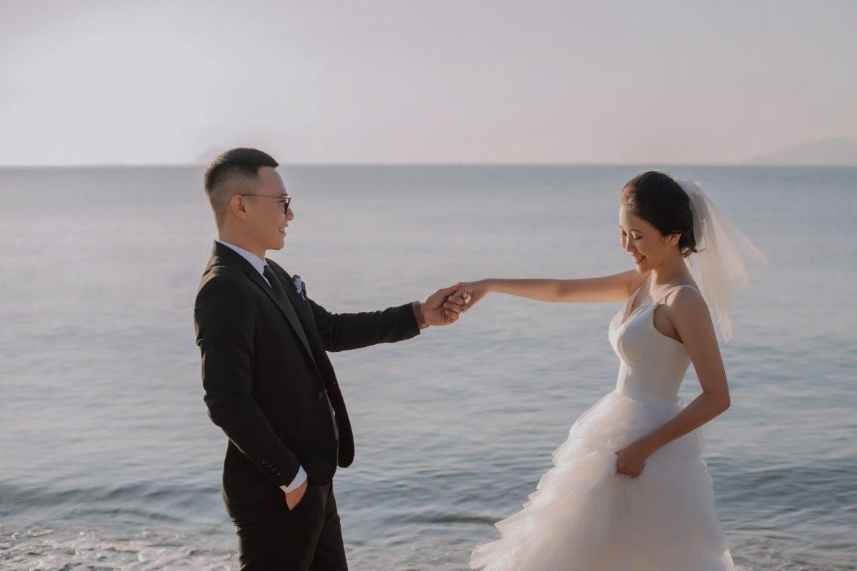 phong cách chụp ảnh cưới 2021