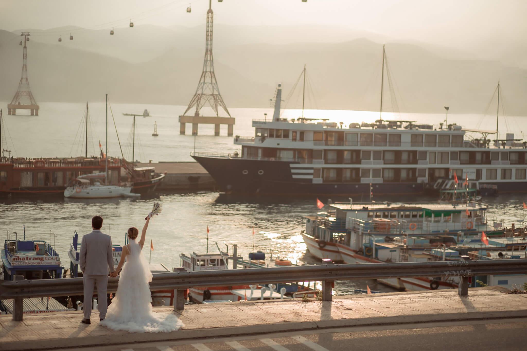 Phong cách chụp ảnh cưới Nha Trang siêu đẹp