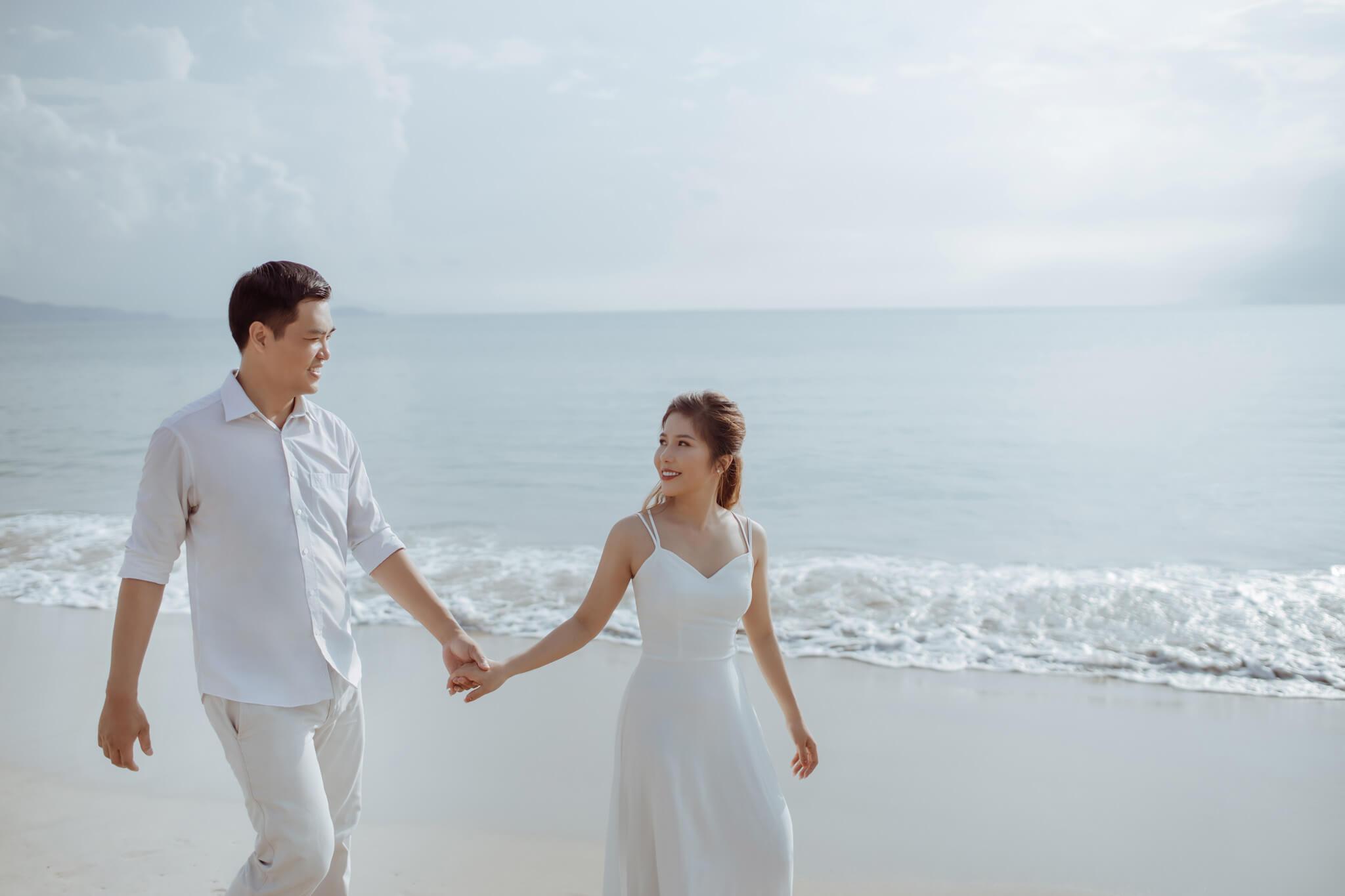 chụp ảnh cưới trọn gói ở Nha Trang