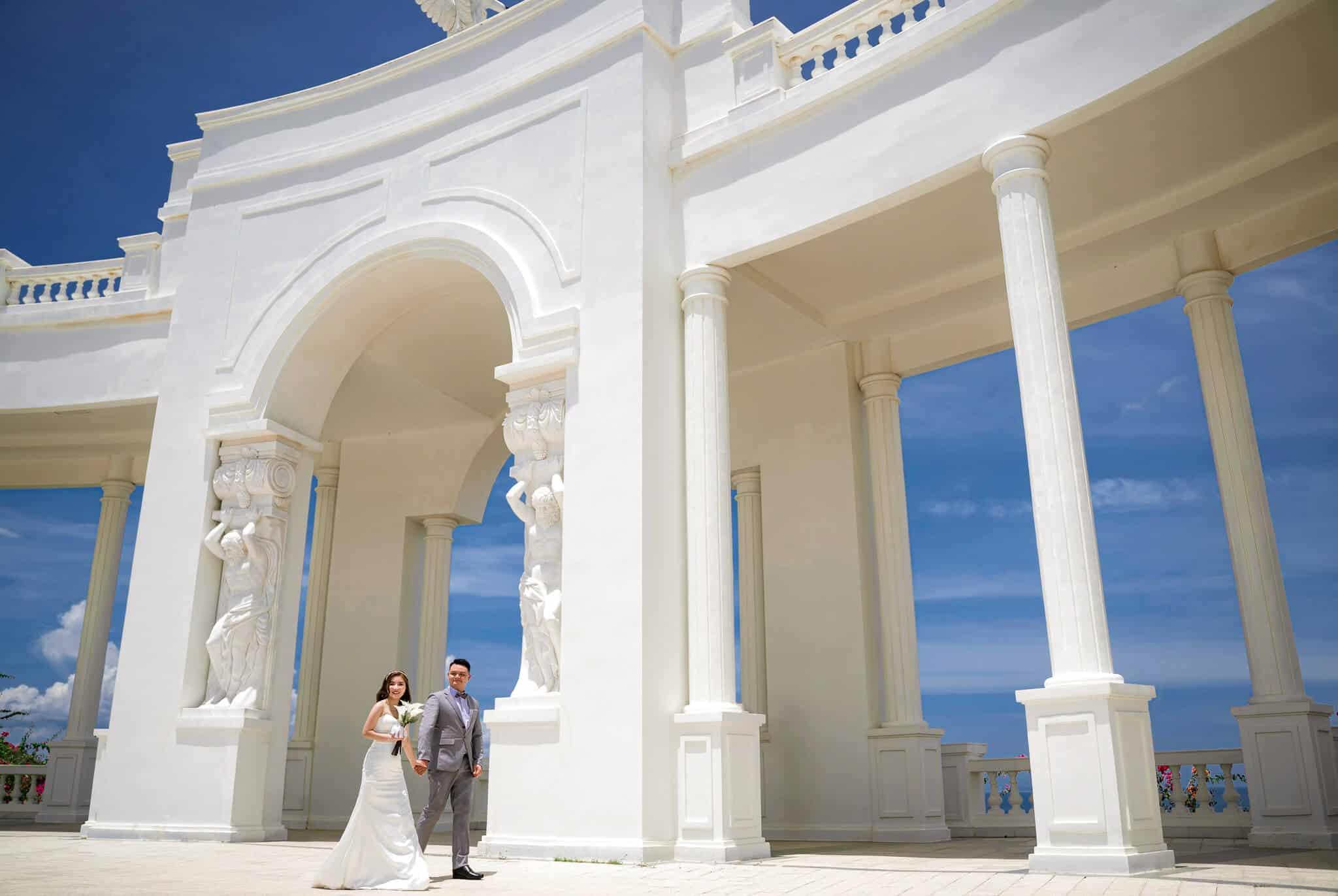 Chụp ảnh cưới Vinpeal Nha Trang, Phong cách chụp ảnh cưới Nha Trang theo xu hướng Châu Âu đẳng cấp, sang trọng