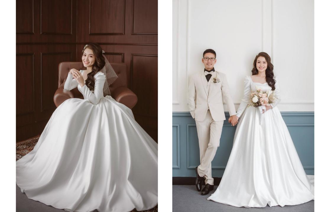 váy cưới xu hướng 2020-2021, Xu hướng váy cưới 2021 cực hot có mặt Xoài Weddings