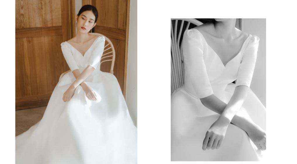 Xu hướng váy cưới 2021 cực hot có mặt Xoài Weddings