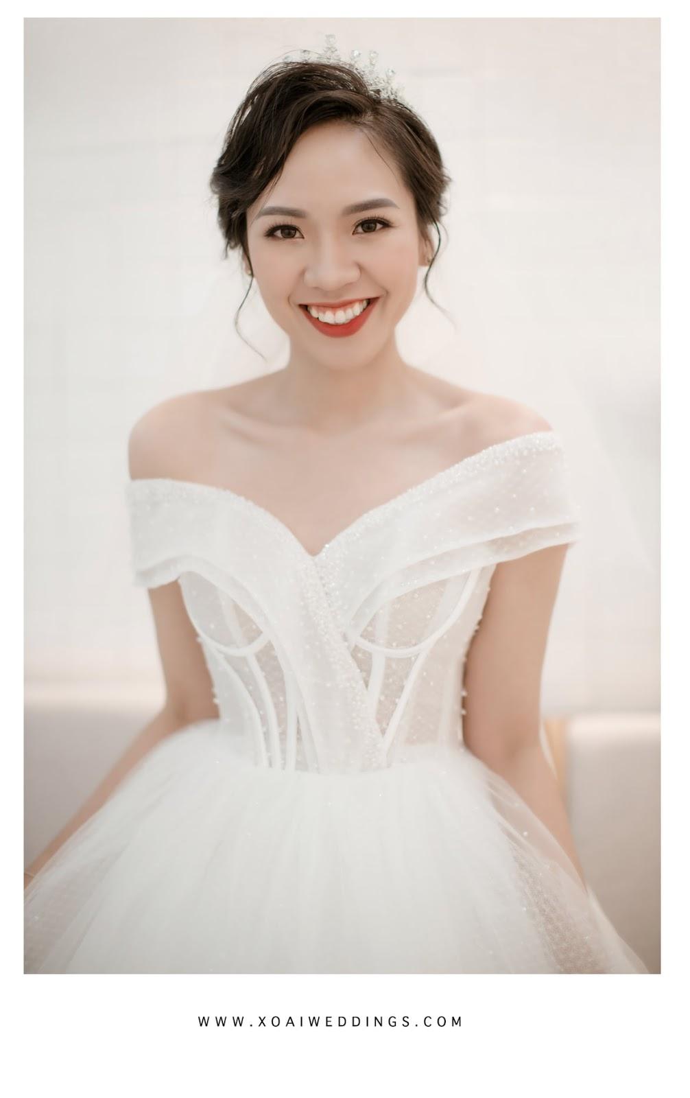 Lựa chọn mẫu váy cưới phù hợp với từng dáng người