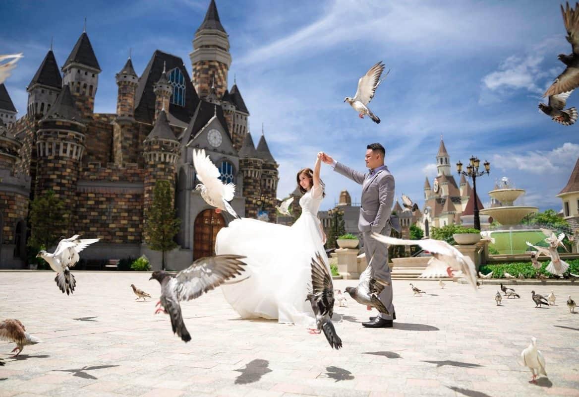Chụp ảnh cưới đẹp tại Vinpearl Nha Trang, Cách tạo làm nên những bộ ảnh cưới nghệ thuật tại Nha Trang