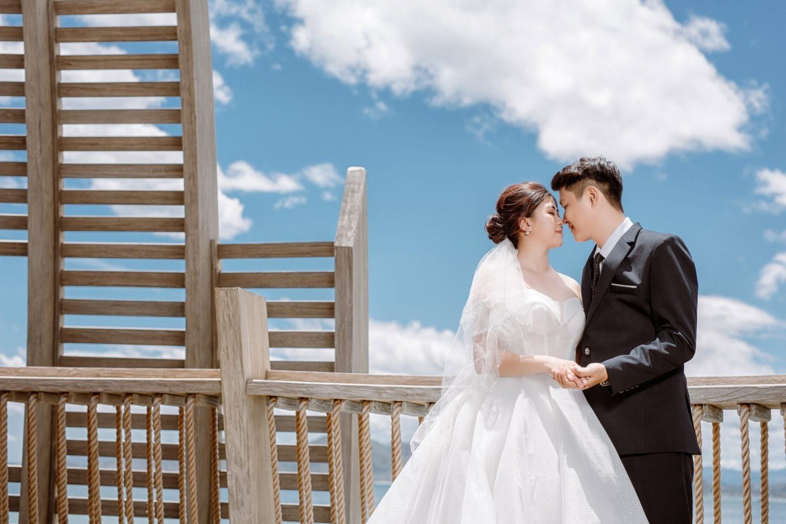 Ảnh cưới tại Resort đẹp tự nhiên và chân thật