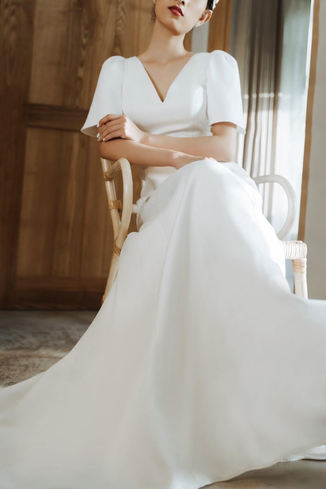 Váy cưới kín đáo ngày càng được yêu thích