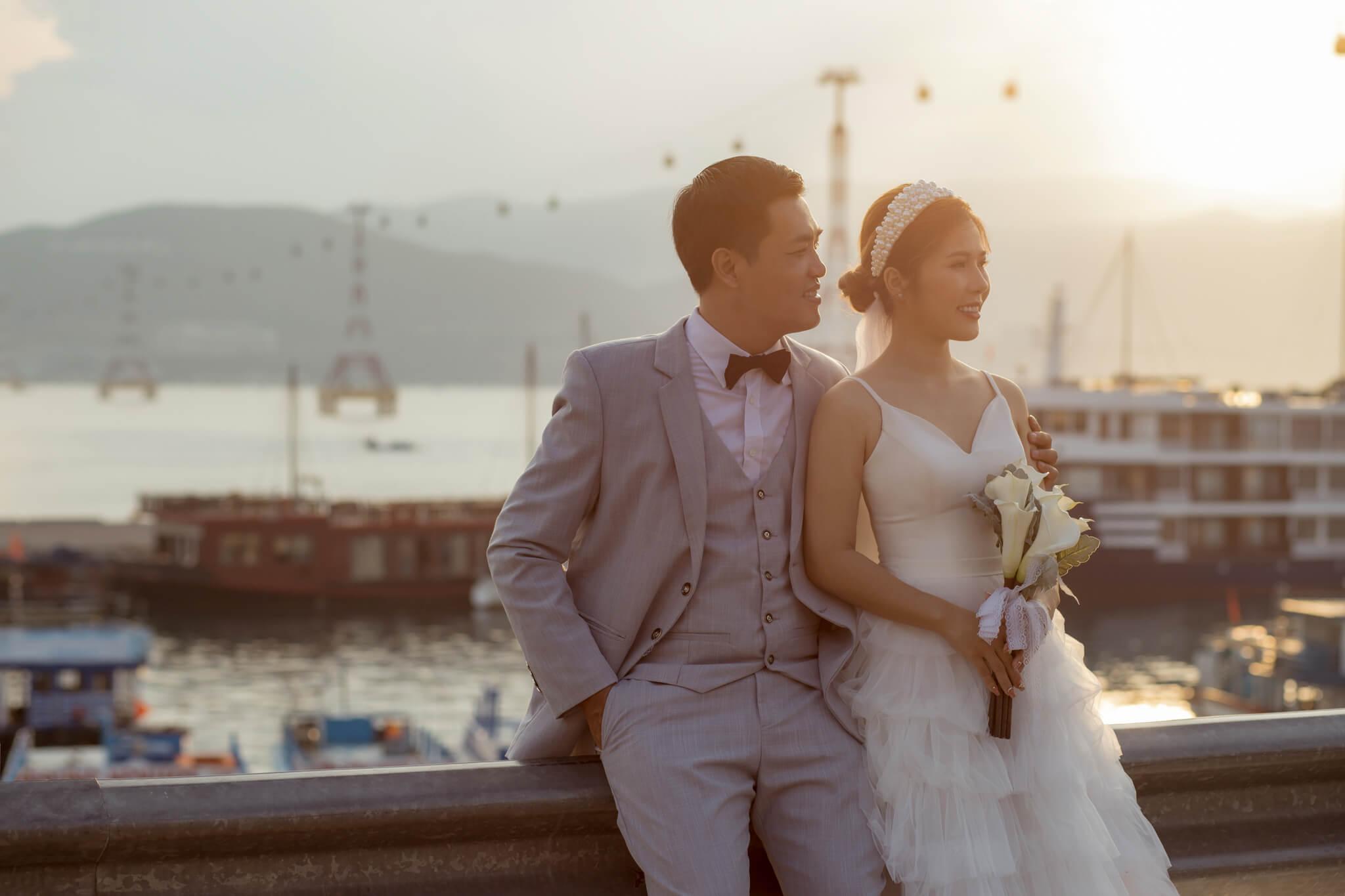 Tips chụp ảnh cưới ngoại cảnh đẹp ở Nha Trang, Cách tạo làm nên những bộ ảnh cưới nghệ thuật tại Nha Trang