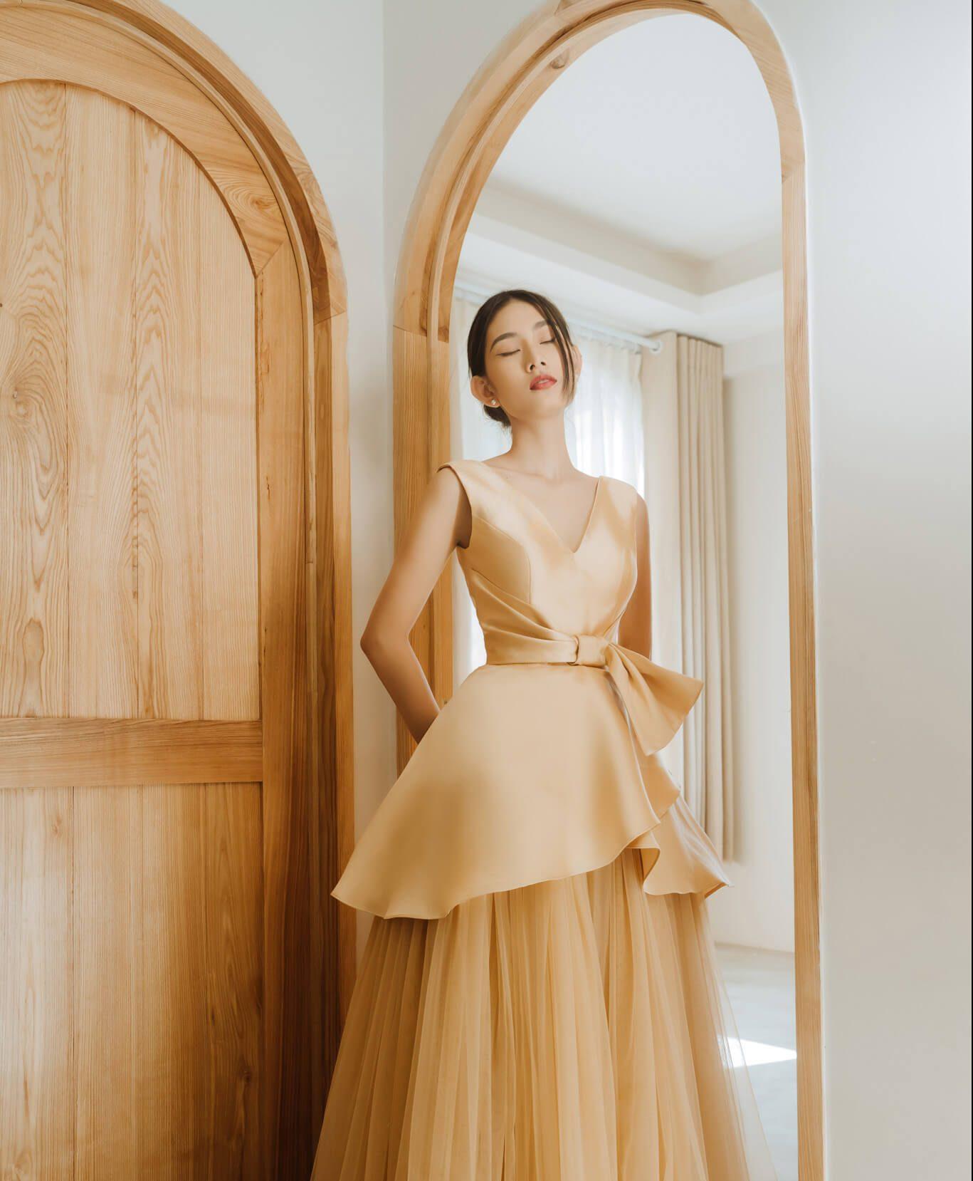 Áo cưới đơn giản phong cách Minimalism
